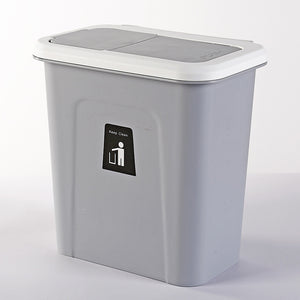 Push-top Trash Can Chef Hanging Automatic Return Lid