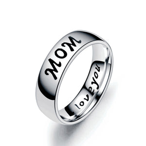 Love Mom Dad Son Daughter Ring