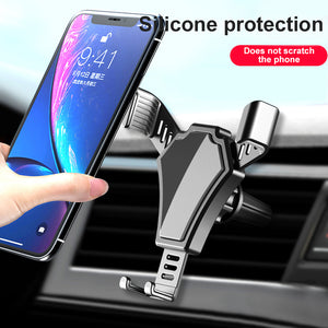 Gravity Car Phone Holder Air Vent Mount Car Cell Phone Holder Stand For Phone In Car Auto For Mobile Phone Car Holder