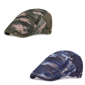 Summer Camouflage Mesh Cotton Beret Cap  (Buy 1 get 1 FREE)