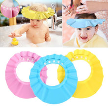 Load image into Gallery viewer, Adjustable Baby Shampoo Cap - Stop soap get in their eyes (2PCS)
