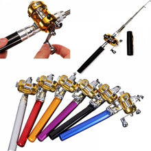 Load image into Gallery viewer, Mini Pen Fishing Rod - Pocket Fishing Rod