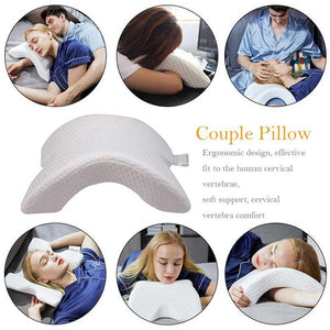 X Zero Multifunction Anti-Pressure Ice Silk Healthy Pillow With Slow Rebound Memory Foam
