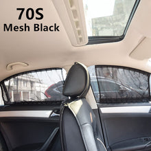 Load image into Gallery viewer, 2 Pack Car Side Window Sunshade Curtains