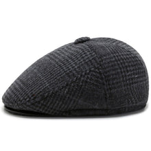 Load image into Gallery viewer, Mens Thickening Adjustable Felt Solid Wool Warm Beret Cap( BUY 1 GET 1 FREE)