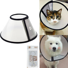 Load image into Gallery viewer, Pet Plastic Clear Cone Recovery E-Collar for Mini Dogs & Small Cats