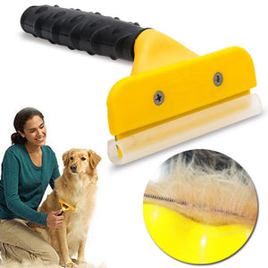 Professional & Portable Pet Hair Removal Comb