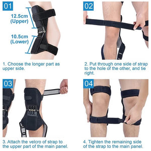 Power Knee Stabilizer Pads(One Pair)