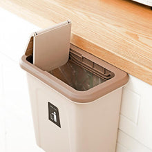 Load image into Gallery viewer, Push-top Trash Can Chef Hanging Automatic Return Lid