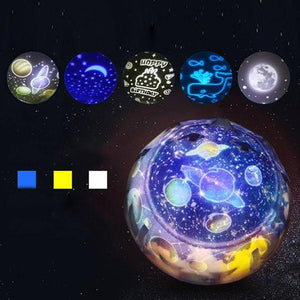 Fantasy Dazzle Color Rotating Projection Lamp Christmas Gift