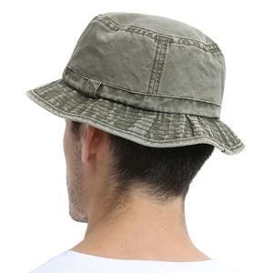 Cotton UV Protection Bucket Hat