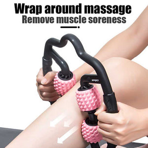 U-Shaped Trigger Point Massage Roller Yoga Fitness Equipment