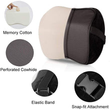 Load image into Gallery viewer, Comfortable Space Memory Adjustable Car Seat Head Pillow