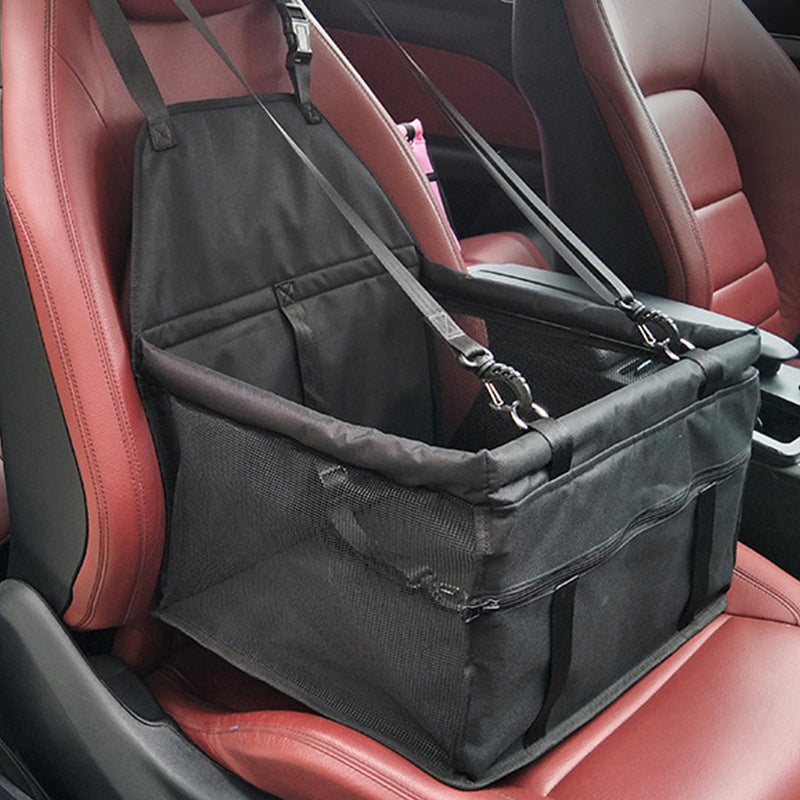SAFETY PET CAR SEAT - KEEPS YOUR FUR KIDS SAFE!