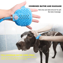 Load image into Gallery viewer, 2-In-1 Pet Shower Massager Bathing Tool
