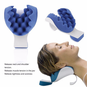 Portable Neck Traction Chiropractic Pillow