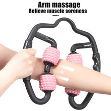 Load image into Gallery viewer, U-Shaped Trigger Point Massage Roller Yoga Fitness Equipment