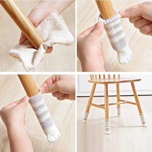 Cat Paw Protection Socks For Chairs (set of 4)