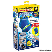 Load image into Gallery viewer, Spin duster electric feather duster 360 rotates dust remover brush