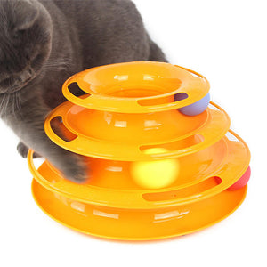 Cat Ball Track Toy