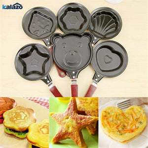 Creative breakfast DIY frying pan