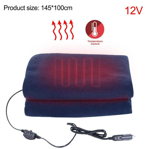 Car special electric blanket (Navy)