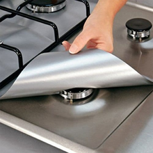 Load image into Gallery viewer, 4 PCS Non-stick Gas Range Protectors Clean Mat Pad