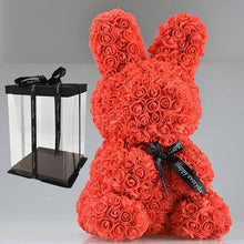 Load image into Gallery viewer, Enchanted Forever Rose Bunny