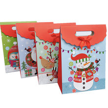 Load image into Gallery viewer, 4 Color Christmas Candy Paper Bag 1-24 Advent Calendar Environmentally Friendly High-End Cake Chocolate Bag Reusable Christmas Candy Paper Bag