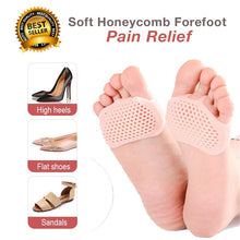 Load image into Gallery viewer, Soft Honeycomb Forefoot Pain Relief (2/4/6 PAIRS)