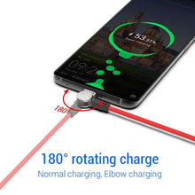 Load image into Gallery viewer, ROTATING MAGNETIC ABSORPTION CHARGING CABLE