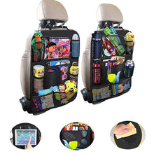 Load image into Gallery viewer, (1/2 Pack) Multi-Pocket Car Storage Back Seat Organizer