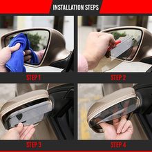 Load image into Gallery viewer, Car Side Mirrors Anti-Rain And Snow Eyebrow  (2 Pairs/4 PCS)