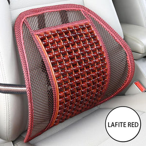 Practical Lumbar Support cushion & Massager for office Chairs and Cars