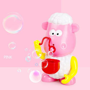 Generic Cute Sheep Automatic Bubble Machine