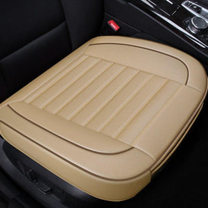 Four Seasons Universal 3D PU Leather Breathable Car Seat Cushion
