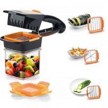 Load image into Gallery viewer, Quick 5 In 1 Vegetable Chopper