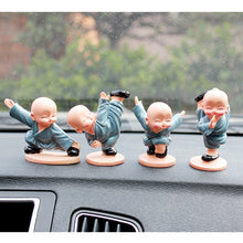 Load image into Gallery viewer, Four Little Chinese Style Kung Fu Monks Car/Home Accessories 4PCS