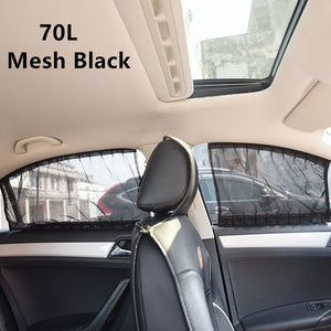 2 Pack Car Side Window Sunshade Curtains