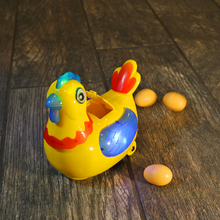Load image into Gallery viewer, Robotic Chicken Toy, Dances Around And Randomly Lays Egg Around Your Home