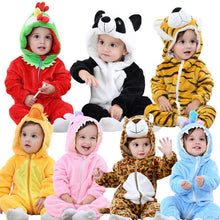Load image into Gallery viewer, Cute Animal Rompers for Babies