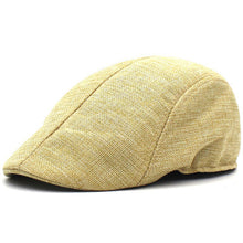Load image into Gallery viewer, Herringbone Duckbill Ivy Hat Classic Wool Cap Golf Newsboy