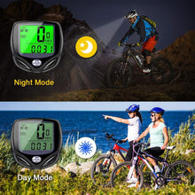Load image into Gallery viewer, Multifunctional Waterproof Bicycle Tachometer Wireless Odometer