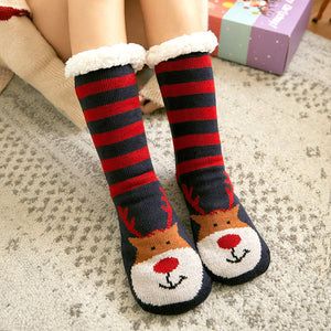 Extra-warm Fleece Indoor Socks