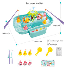 Load image into Gallery viewer, Kid Electric Music Rotary Water Fishing Toy