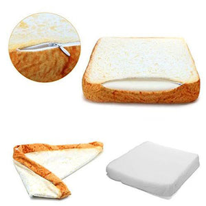 Toast Cat Bed - Toasted Bread Shaped Cat Bed