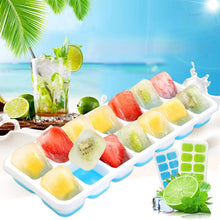 Load image into Gallery viewer, Creative Silicone Ice Tray With Lid Food Grade