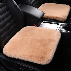 Universal Warm Car Wool Fur Car Seat Cover Set (Christmas Gift )