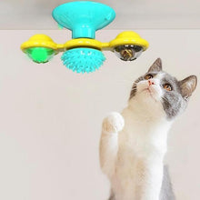 Load image into Gallery viewer, Windmill Turntable Cat Toys