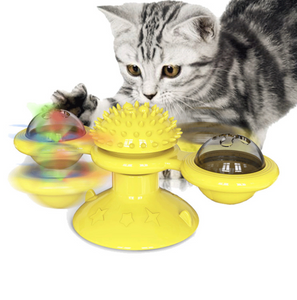 Windmill Turntable Cat Toys